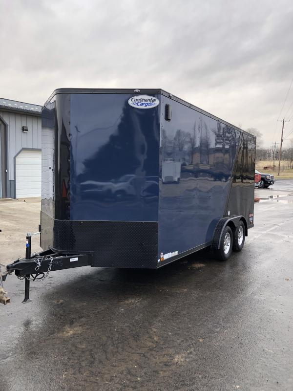 2020 Continental Cargo 7.5X16 CONTINENTAL CARGO Enclosed Cargo Trailer