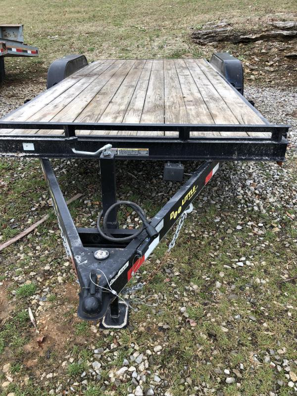 2013 Doolittle Trailer Mfg cf 8418 Flatbed Trailer