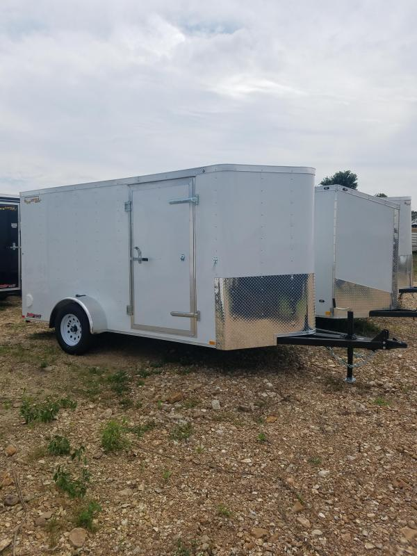 2019 Doolittle Trailer Mfg 6X12 DOOLITTLE E TRACK WALL MOUNT SPARE Enclosed Cargo Trailer