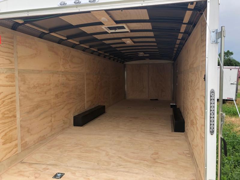 2020 Continental Cargo 8.5X26 TAILWIND Enclosed Cargo Trailer