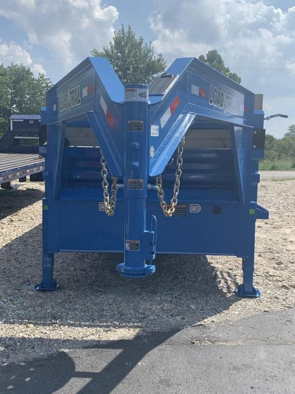 2020 Load Trail 83X20 LOADTRAIL DUMP GOOSENECK HYD JACKS BLUE Dump Trailer