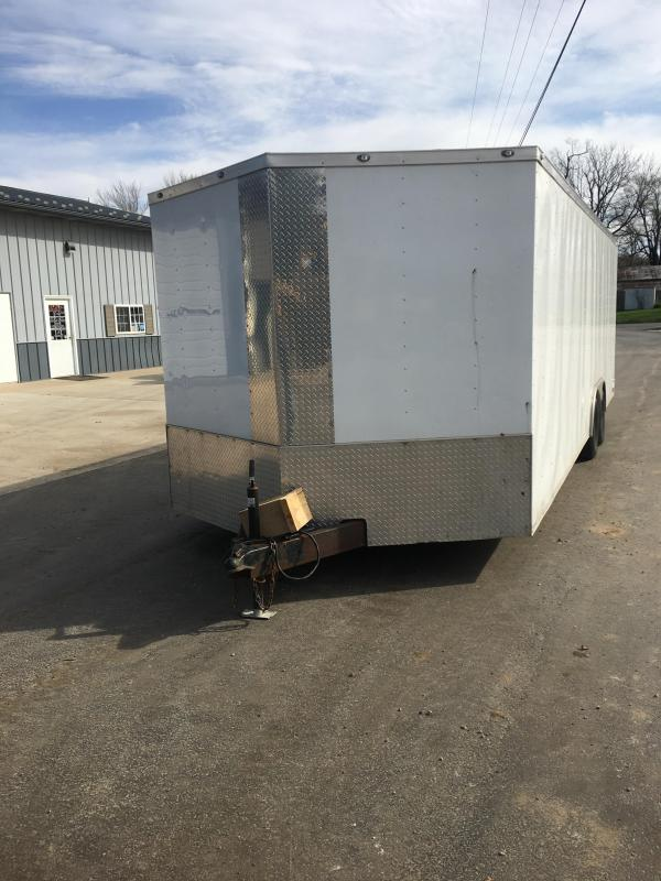 2018 Diamond Trailers 8x24 Enclosed Cargo Trailer