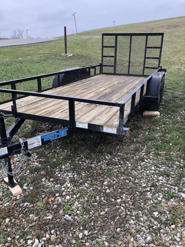 2013 Top Hat Trailers 77X16 UTILITY Utility Trailer