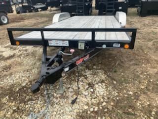 2017 Load Trail 83X18 LOAD TRAIL CARHAULER Flatbed Trailer