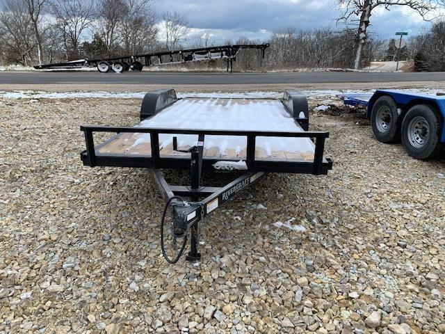 2015 Rivercraft 84X18 RIVERCRAFT Flatbed Trailer