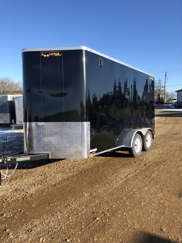 2020 Doolittle Trailer Mfg 2020 7X14 DOOLITTLE 7K GVW TAPED SEAMS Enclosed Cargo Trailer