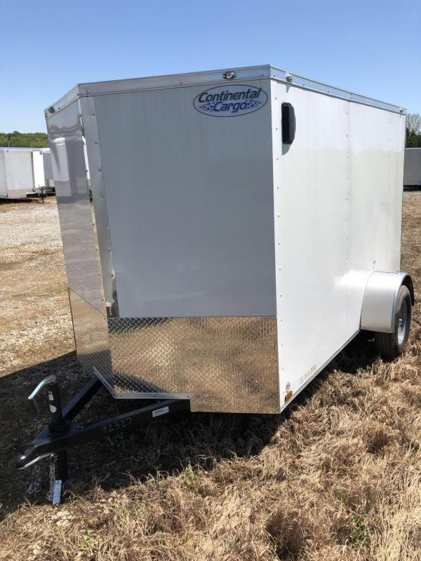 2020 Continental Cargo 6X10 CONTINENTAL CARGO Enclosed Cargo Trailer