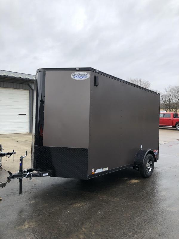 2020 Continental Cargo 6.5X12 Enclosed Cargo Trailer