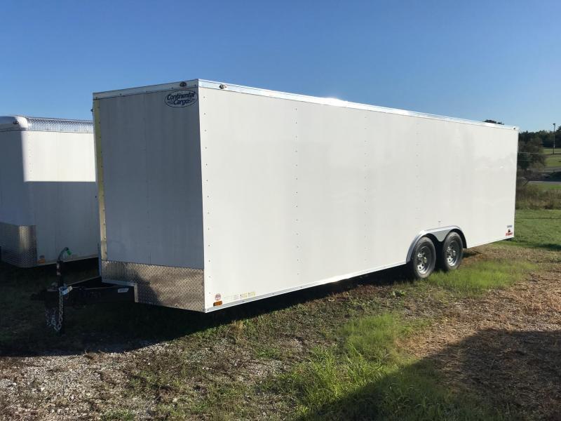 2020 Continental Cargo 8.5X24 V SERIES 10K Enclosed Cargo Trailer