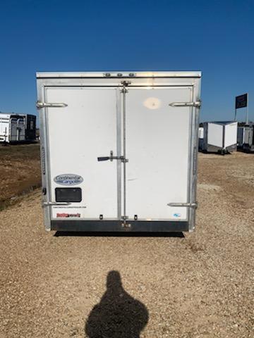 2019 Continental Cargo 7X24 CC 10K GVW CARGO REAR DOORS WHITE 7 INT Enclosed Cargo Trailer