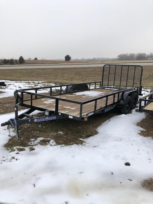 2019 Load Trail 83X18 LOAD TRAIL UTILITY Utility Trailer