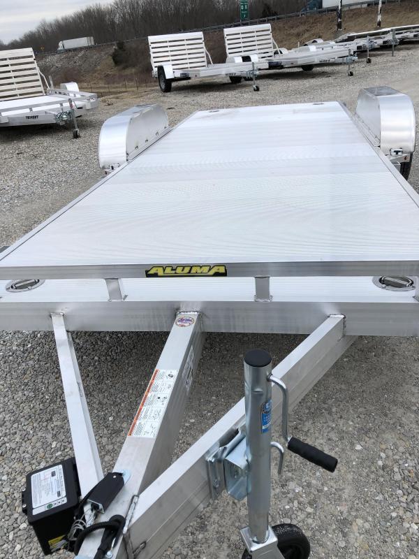 2021 Aluma 8218H Utility Trailer