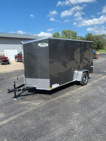 2020 Impact Trailers 6X12 IMPACT 2K GVW REAR RAMP DOOR W/12 EXTENSION Enclosed Cargo Trailer