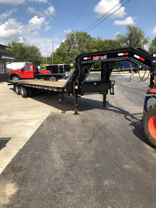 2020 Load Trail 102X32 LOADTRAIL GOOSENECK HYD DOVE 24K GVW Flatbed Trailer