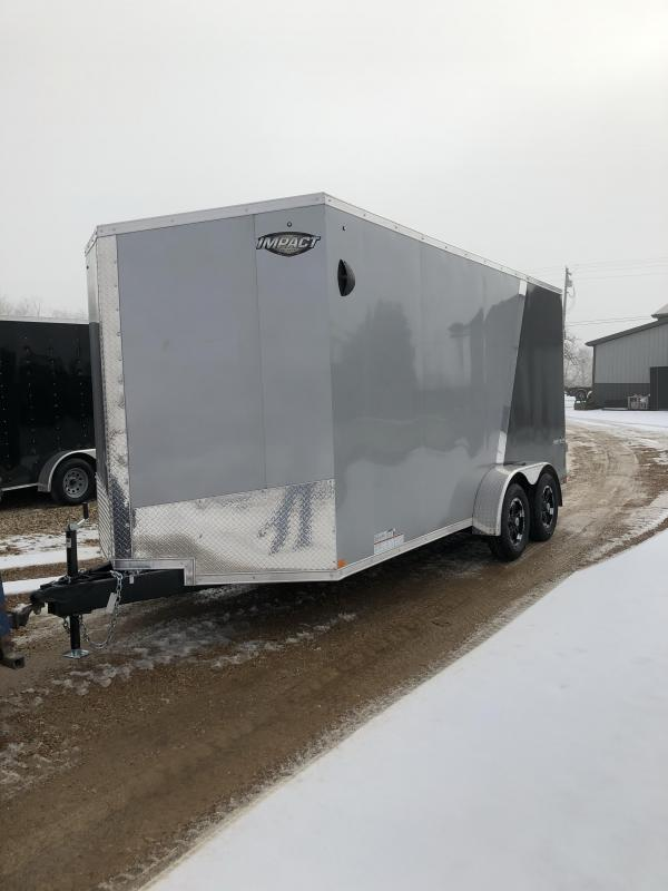 2021 Impact Trailers Shockwave Its Cargo Cargo / Enclosed Trailer