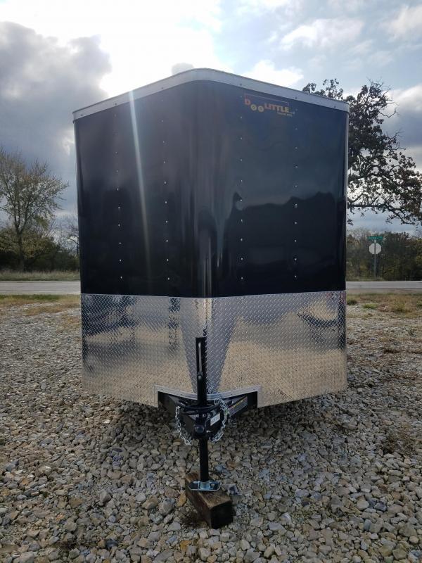 2020 Doolittle Trailer Mfg 7X16 DOOLITTLE CARGO RAMP DOOR SIDE DOOR Enclosed Cargo Trailer