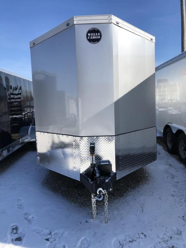 2020 Wells Cargo 7X12 WELLS CARGO Enclosed Cargo Trailer