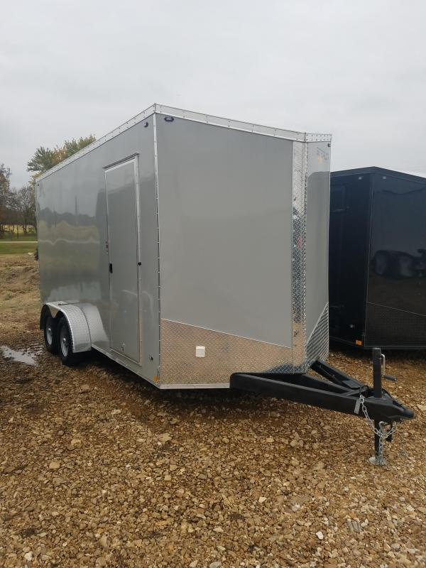 2020 Stealth Trailers 7X16 STEALTH TITAN 7K GVW SCREWLESS REAR SCISSOR Enclosed Cargo Trailer