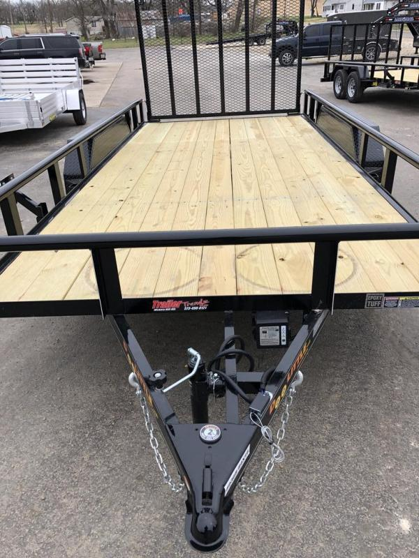 2020 Doolittle Trailer Mfg 83X16 DOOLITTLE Utility Trailer