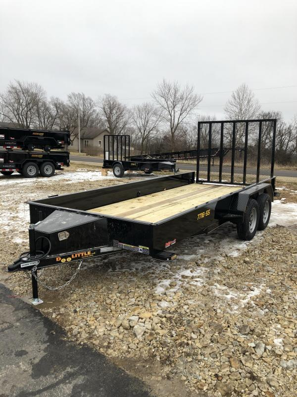2020 Doolittle Trailer Mfg 77X16 DOOLITTLE UTILITY Utility Trailer
