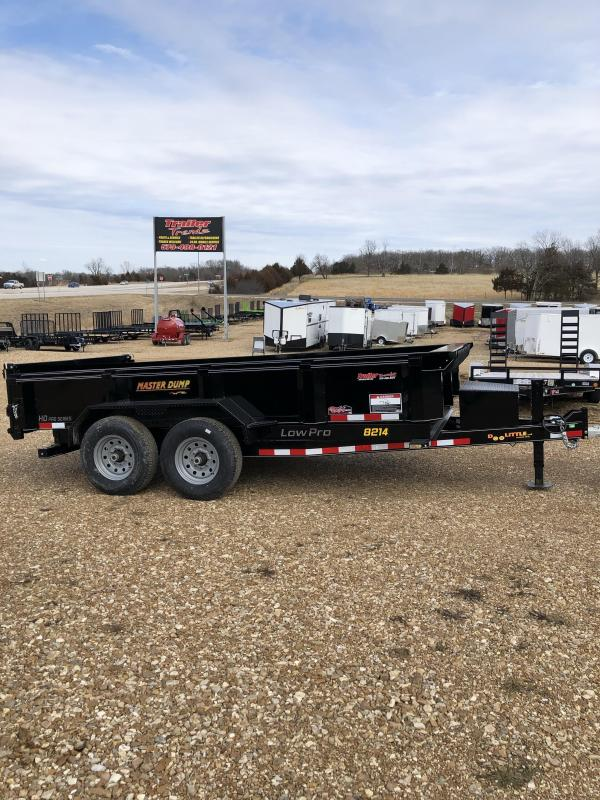 2020 Doolittle Trailer Mfg 82X14 DOOLITTLE Dump Trailer