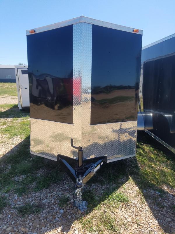 2019 Triple R 6X12 TRIPLE R CARGO 7K GVW RAMP DOOR Enclosed Cargo Trailer