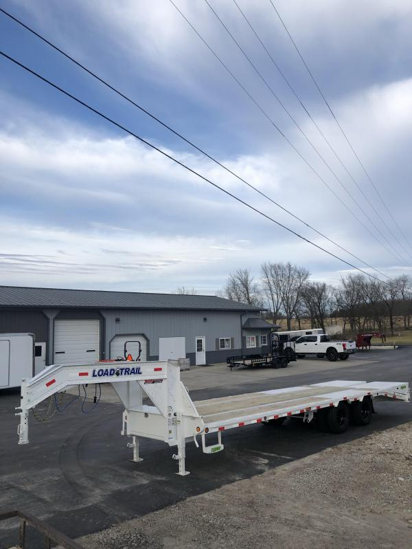 2020 Load Trail 102X28 LOAD TRAIL LOW PRO GOOSENECK Equipment Trailer