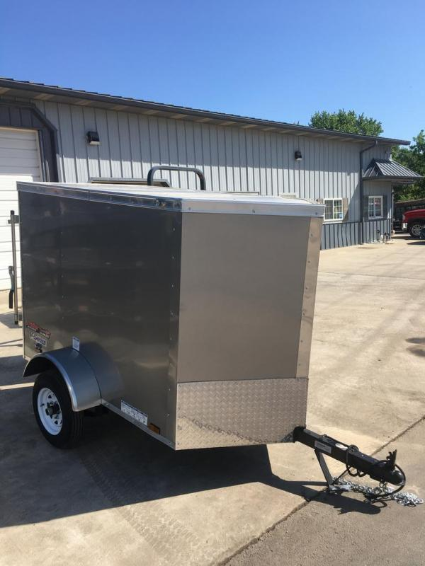 2020 Continental Cargo 4X6 CONTINENTAL CARGO Enclosed Cargo Trailer