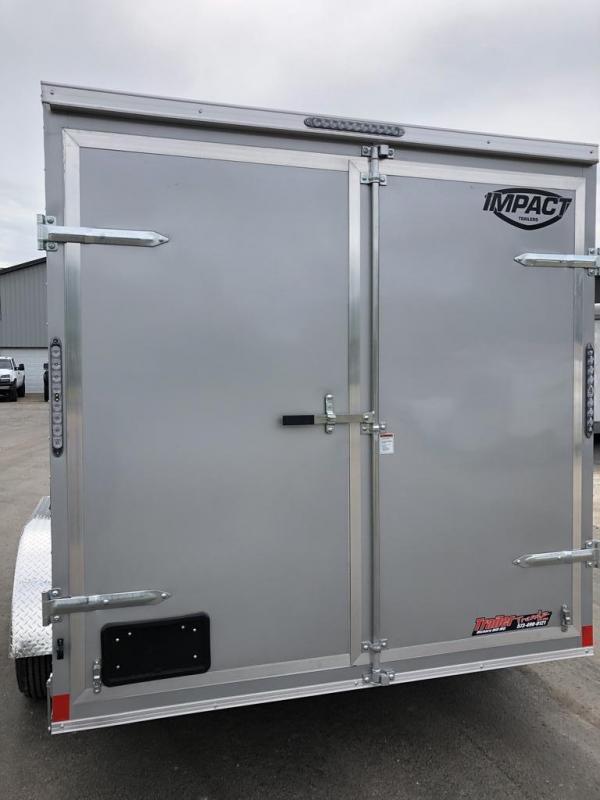 2021 Impact Trailers 7X14 IMPACT Enclosed Cargo Trailer