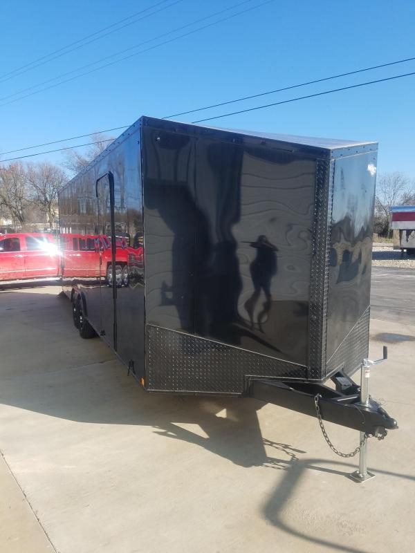 2020 Impact Trailers 2020 8.5X24 IMPACT SHOCKWAVE BLACK OUT PACKAGE Enclosed Cargo Trailer