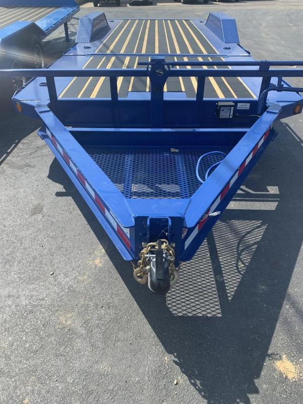 2020 Load Trail 102X22 LOADTRAIL TILT 14K GVW 10K JACK BLUE Flatbed Trailer