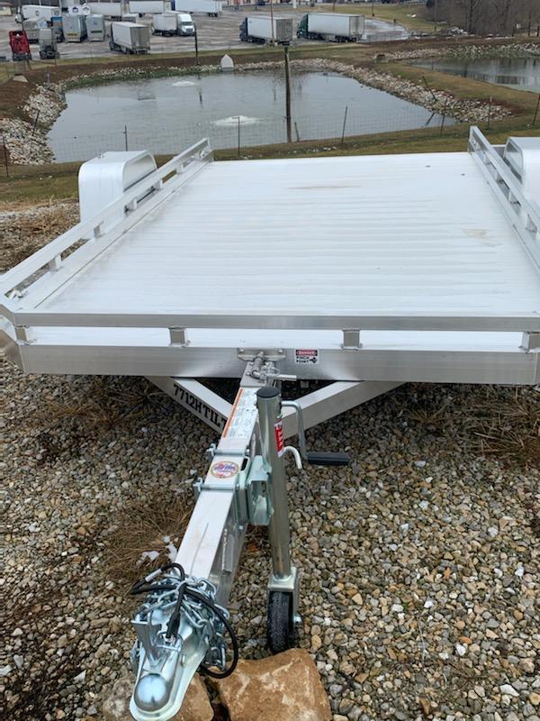 2020 Aluma 77X12 HEAVY TILT Utility Trailer