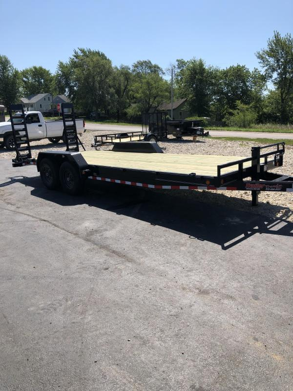 2020 Load Trail 83X20 LOADTRAIL CARHAULER 2' DOVE BLACK Car / Racing Trailer