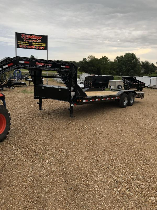 2020 Load Trail 102x24 LOADTRAIL GOOSENECK CARHAULER 2' DOVE Car / Racing Trailer