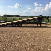 2019 Doolittle Trailer Mfg 102X32 Equipment Trailer FULL TILT
