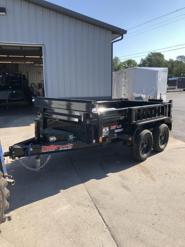 2020 Load Trail 60X10 LOADTRAIL 7K GVW SCISSOR HOIST D-RINGS Dump Trailer