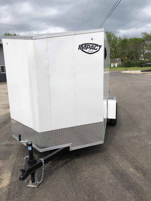 2021 Impact Trailers 6X10 IMPACT Enclosed Cargo Trailer