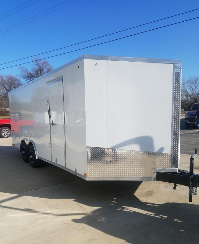 2020 Impact Trailers 8.5X20 IMPACT SHOCKWAVE RAMP DOOR Enclosed Cargo Trailer