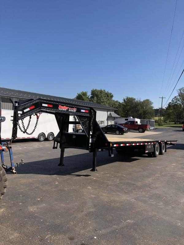 2020 Load Trail 102X34 LOADTRAIL HYDRAULIC DOVE HYDRAULIC JACKS Equipment Trailer