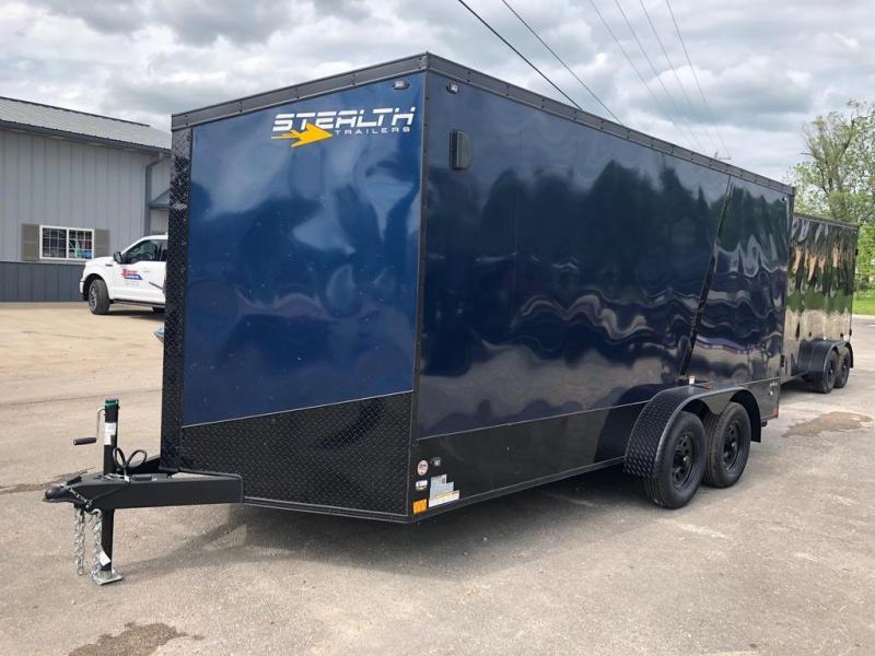 2020 Stealth Trailers 7X16 BLACKHAWK Enclosed Cargo Trailer