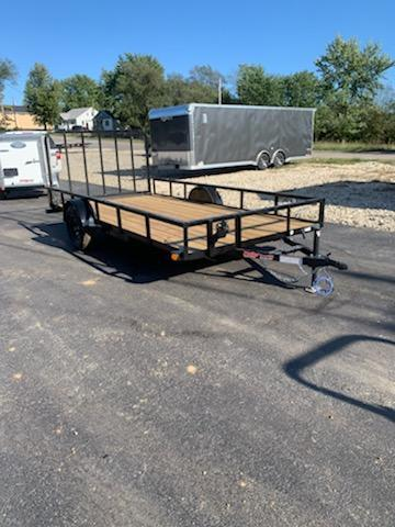 2020 Load Trail 83X14 LOADTRAIL 3K GVW 4 REAR GATE BLACK Utility Trailer