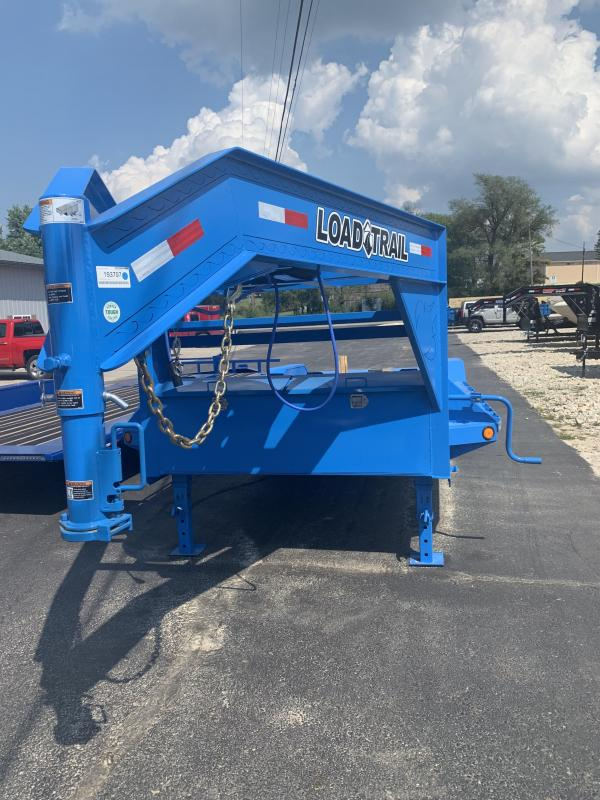 2020 Load Trail 102X26 LOADTRAIL MAX RAMPS WINCH PLATE BLUE Equipment Trailer