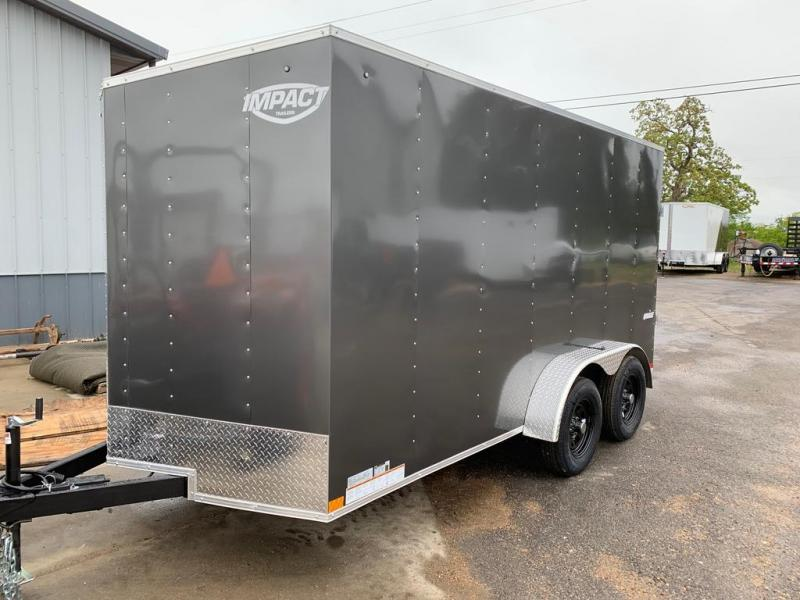 2021 Impact Trailers 7X14 IMPACT Enclosed Cargo Trailer