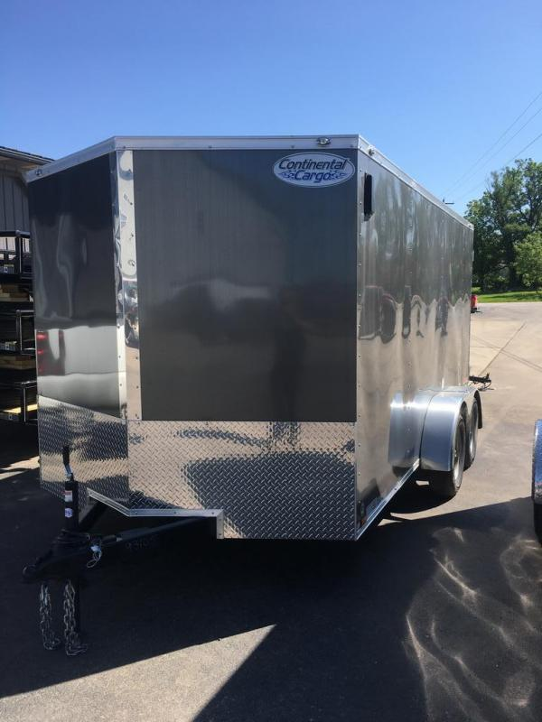 2020 Continental Cargo 7X14 CONTINENTAL CARGO Enclosed Cargo Trailer