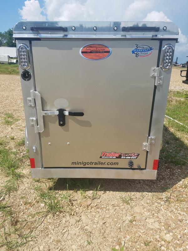 2020 Sundowner Trailers 2020 4X8 SUNDOWNER CARGO POP UP TOP Enclosed Cargo Trailer