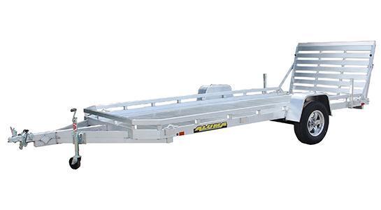 2020 Aluma 2020 ALUMA 78X14ST STRAIGHT GATE Utility Trailer