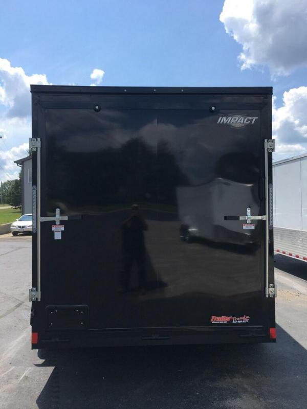 2020 Impact Trailers 7X14 IMPACT TREMOR CARGO REAR RAMP TAPED SEAMS Enclosed Cargo Trailer