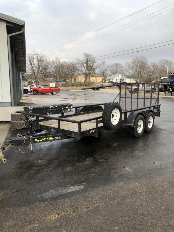 2004 Doolittle Trailer Mfg 77X16 DOOLITTLE Utility Trailer