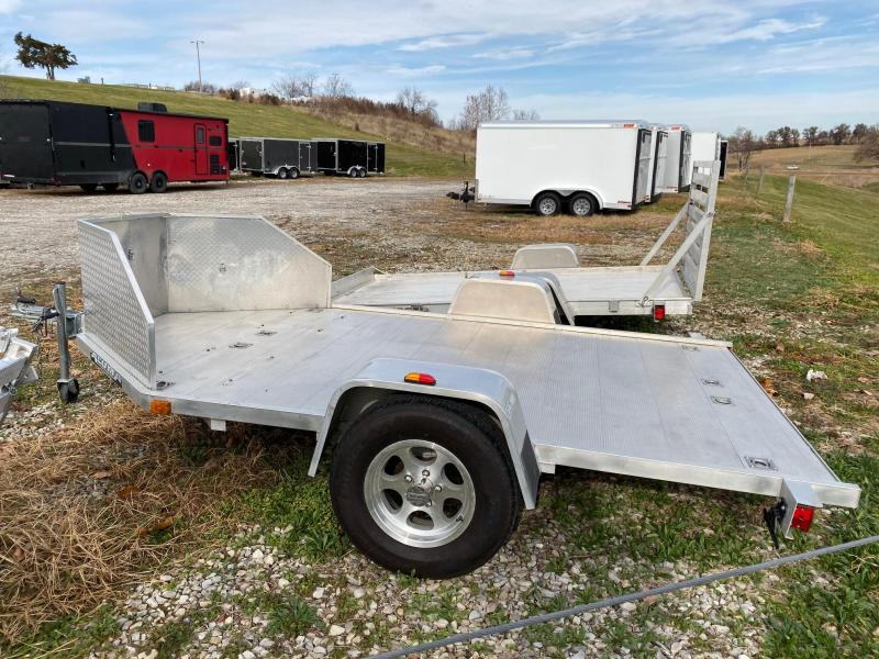 2009 Aluma MC 210 2 BIKE Motorcycle Trailer