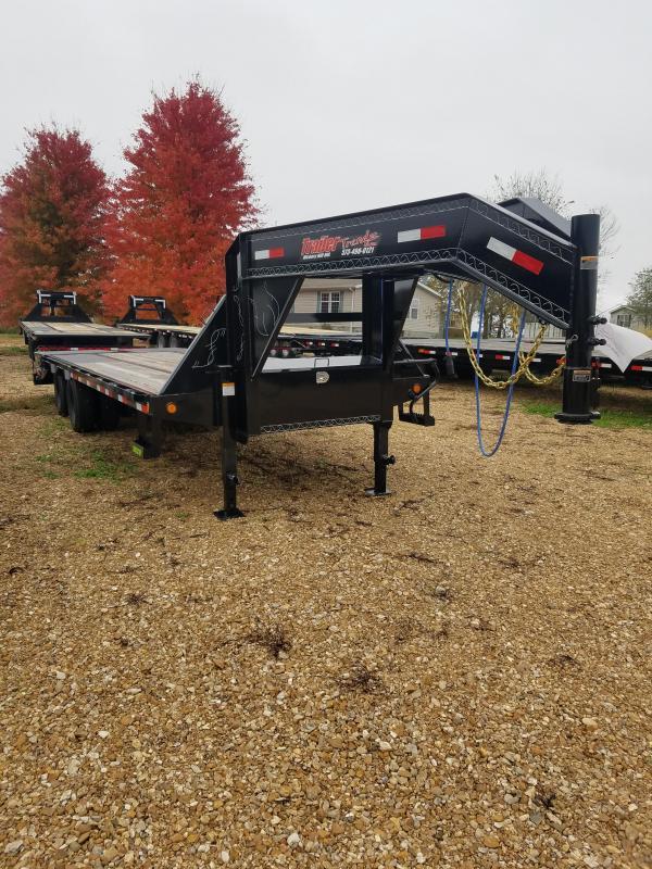 2019 Load Trail 102X25 LOADTRAIL LOW PRO GOOSENECK MAX RAMPS Equipment Trailer